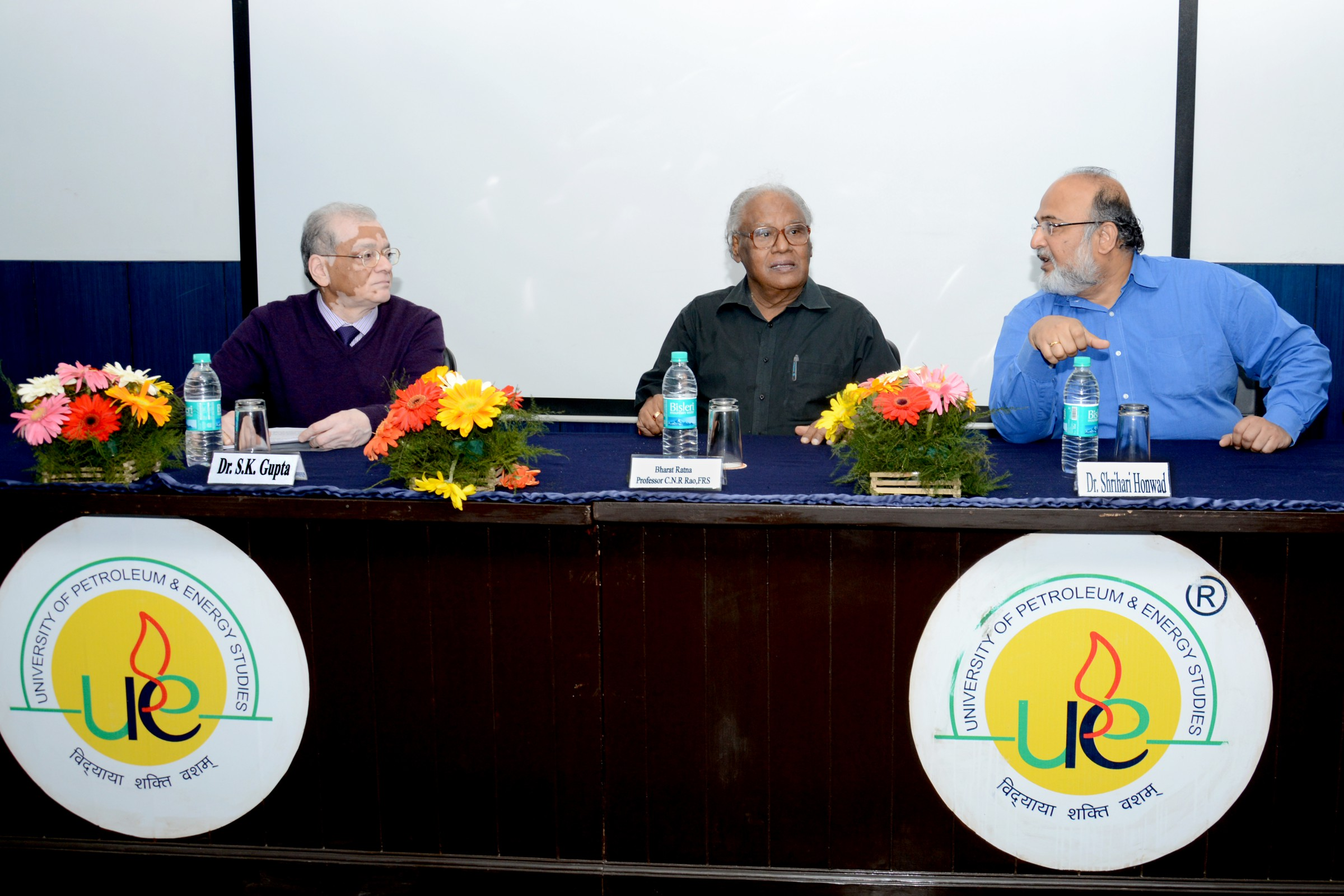 Distinguished Lectures by Bharat Ratna Professor C.N.R. Rao, FRS, March 2015